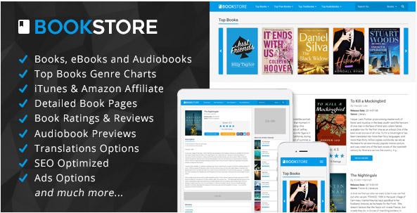 اسکریپت فروشگاه کتاب آنلاین BookStore