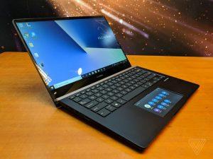 لپ تاپ Asus ZenBook Pro با صفحه نمایش 5.5 اینچی لمسی