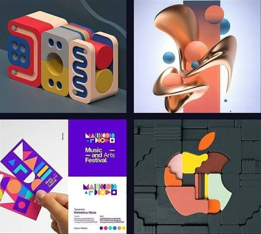 ترندهای طراحی گرافیک در سال 2021