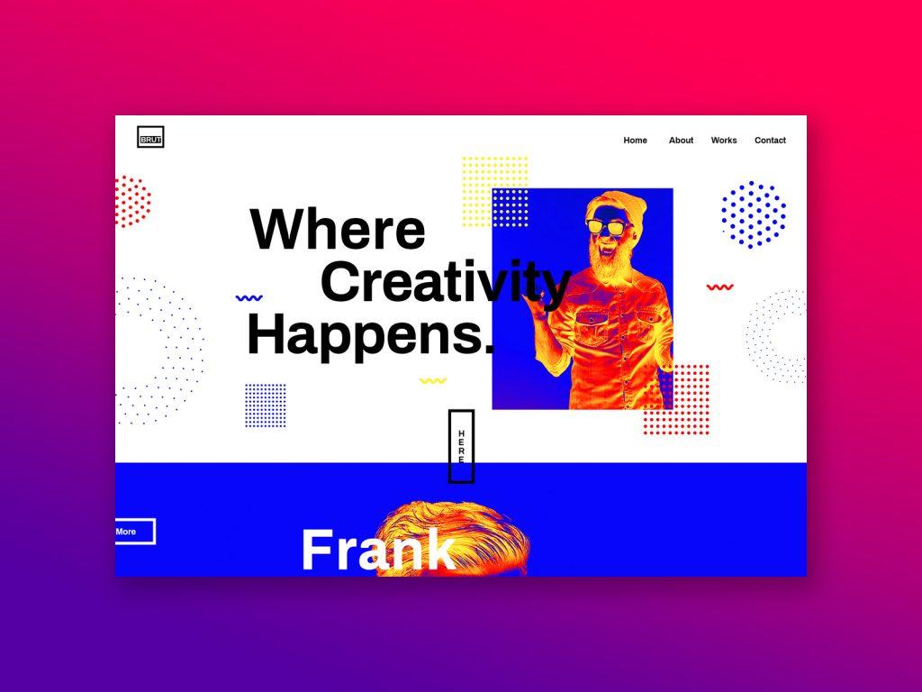 سبک بروتالیست در طراحی وب
