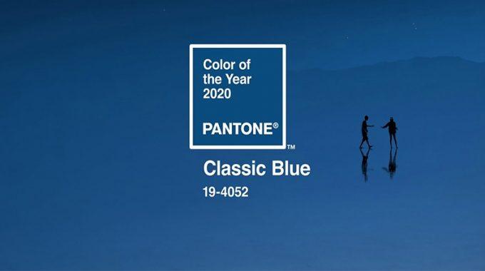 رنگ سال 2020 انتخاب شد؛ آبی کلاسیک