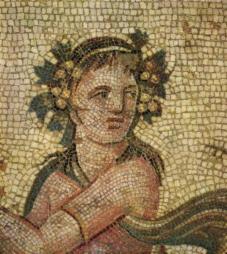 نمونه طرح موزائیکی در هنر روم